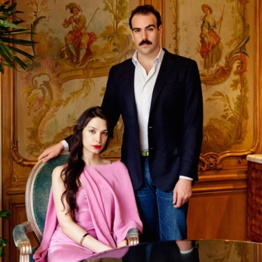 Alia Raza and Ezra Woods (Photo from Colognoisseur, by Town and Country)