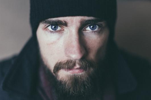 Blue eyes - a hint of the blue ocean