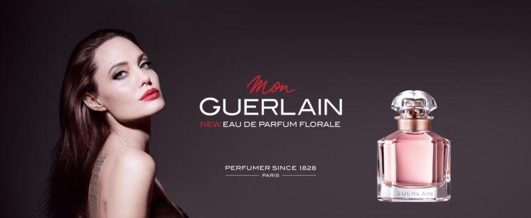"""Angelina Jolie - Guerlain's""""Mon Guerlain Eau de Parfum Florale"""""""