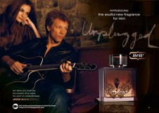 "Jon Bon Jovi - Avon's ""Unplugged for Her"" and ""Unplugged for Him"""