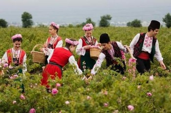 The annual Rose Festival in Kazanlak, 2017