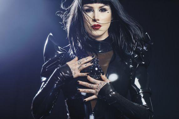 Sinner, by Kat von D (showing Kat von D herself)